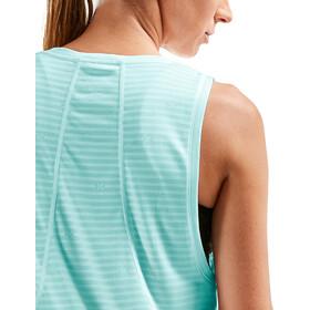 2XU XVENT Mesh Camiseta sin mangas fit Mujer, aqua splash/aqua splash